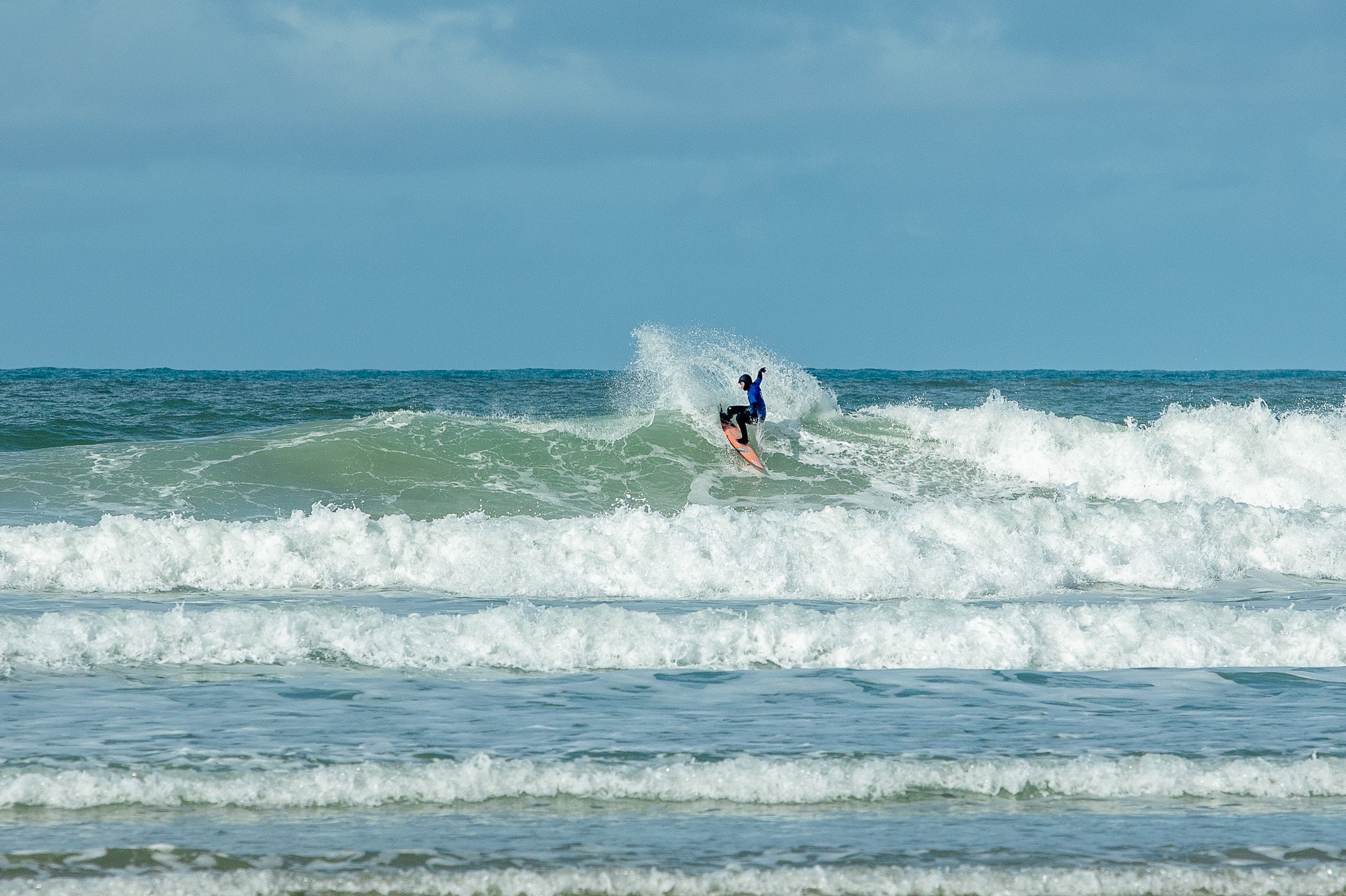 Action from the 2020 English Surf Champs