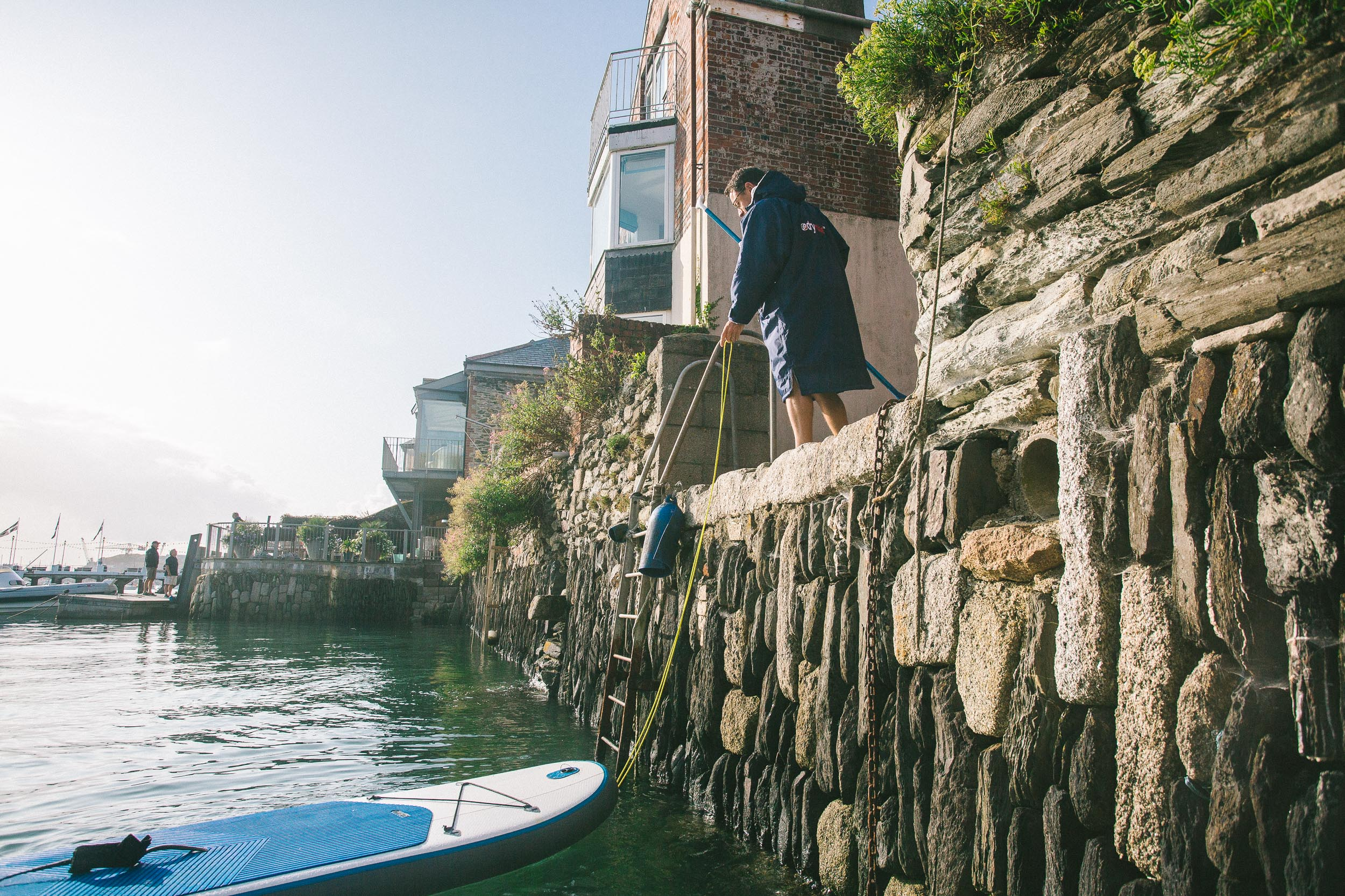 Stand up paddleboarding in Falmouth