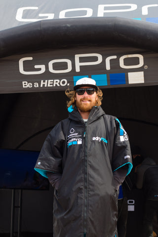 Custom embroidered GoPro dryrobe