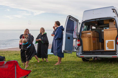 Family caravan dryrobe family traveller awards 2016