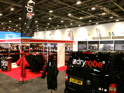 Triathlon Stand | dryrobe | London UK