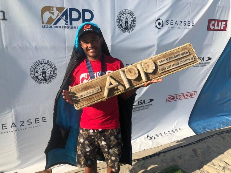 Luiz Diniz NY SUP Open 2019 - Photo Courtesy of Stuart Howells