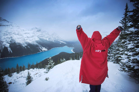 dryrobe, dryrobeterritory, snow, run, climb, ocr, red