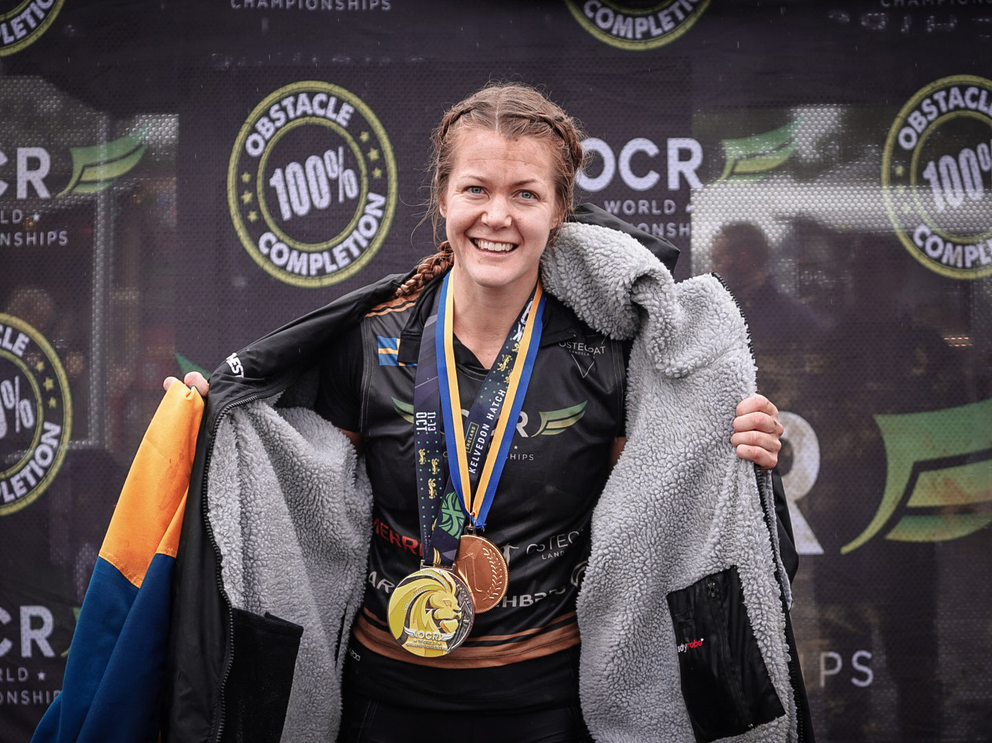 Karin Karlsson Women's 15k world Champion - OCRWC 2019