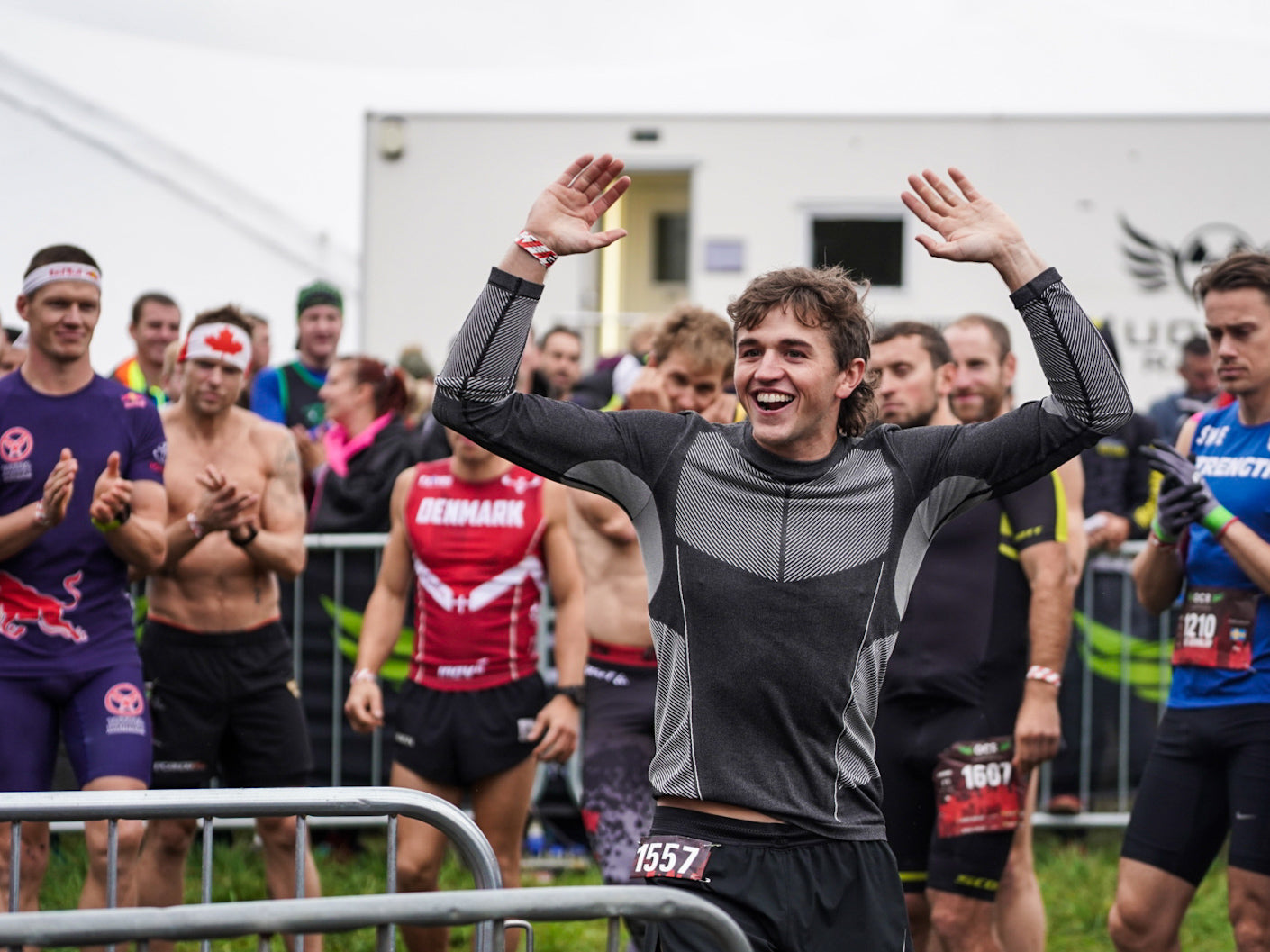 Great support at OCRWC 2019 - Brentwood, UK