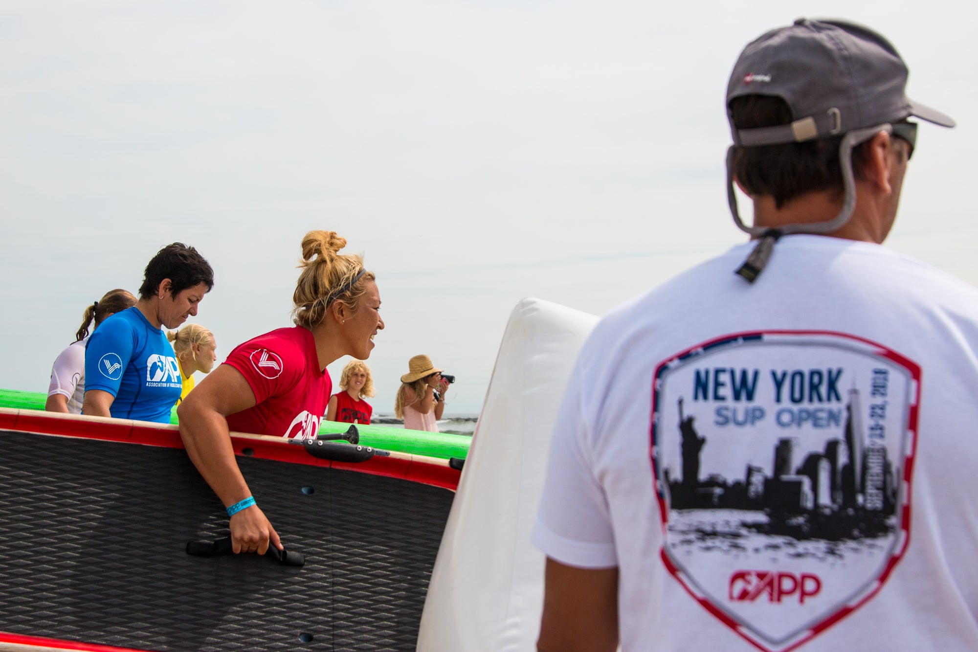 SUP racing at the New York SUP Open - APP World Tour 2019