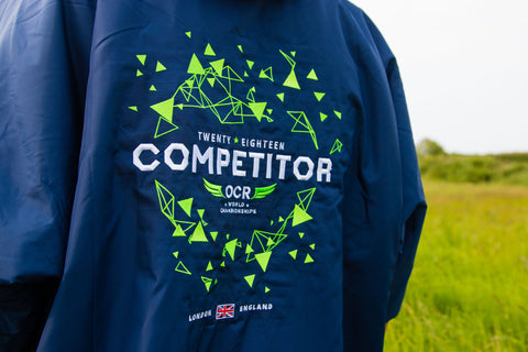 dryrobe, dryrobeterritory, OCR, world, championships, OCRWC, custom, limited, edition