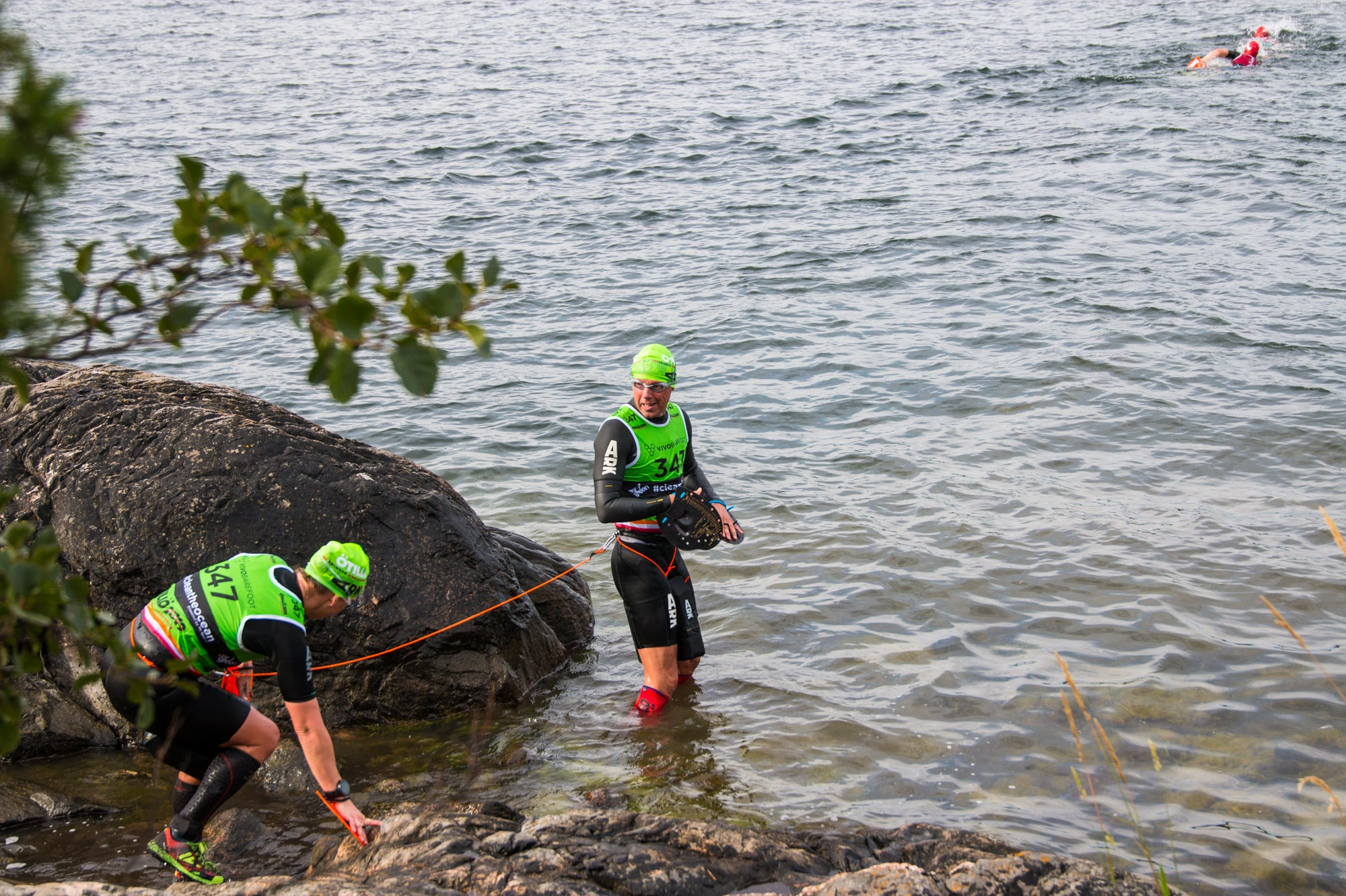 Getting back in the water - ÖTILLÖ Swimrun World Championship 2019