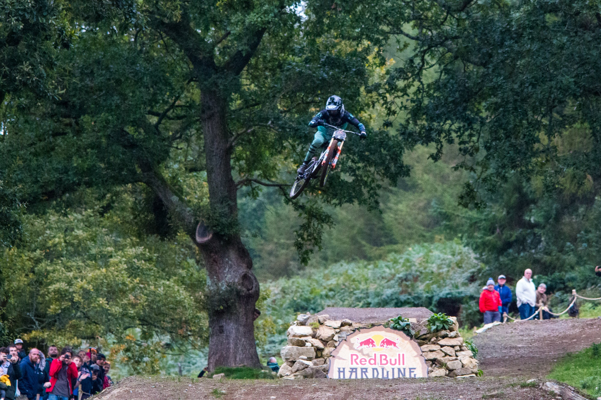 Bernard Kerr at Red Bull Hardline 2019