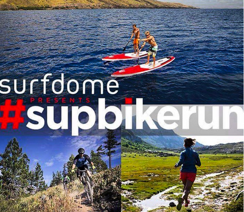 surfdome | dryrobe | sup bike run