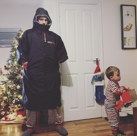 santa gets it right - dryrobe
