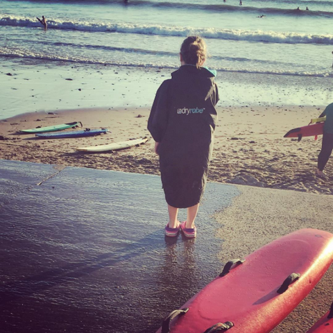 surf, lifesaving, summer, beach, saunton, dryrobe