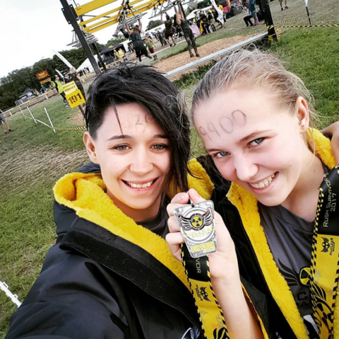 nuclear, races, OCR, obstacle, course, race, dryrobe