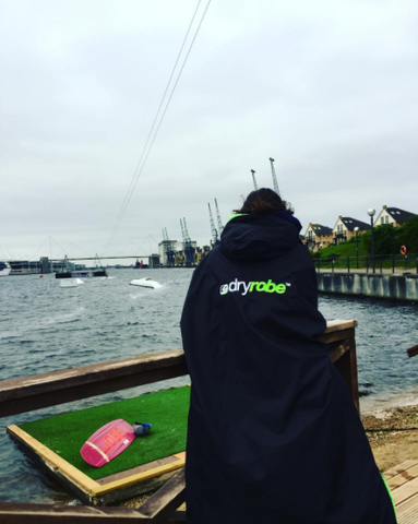 dryrobe, wakeboard, wakeboarding, summer, london