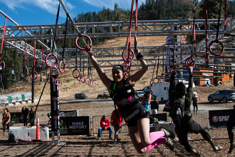 dryrobe, dryrobeterritory, OCR, obstacle, course, racing, girls, amelia, cockesdge, evie, waring, spartan, race, world, championships, lake tahoe, california, USA