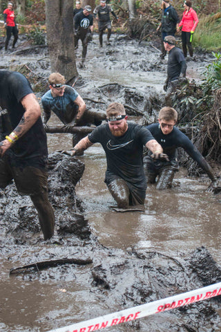 dryrobe, spartan, race, obstacle, course, racing, windsor, mud