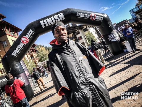 dryrobe, ambassador, miguel, labranche, spartan, nomad, spartan, race, obstacle, course, racing
