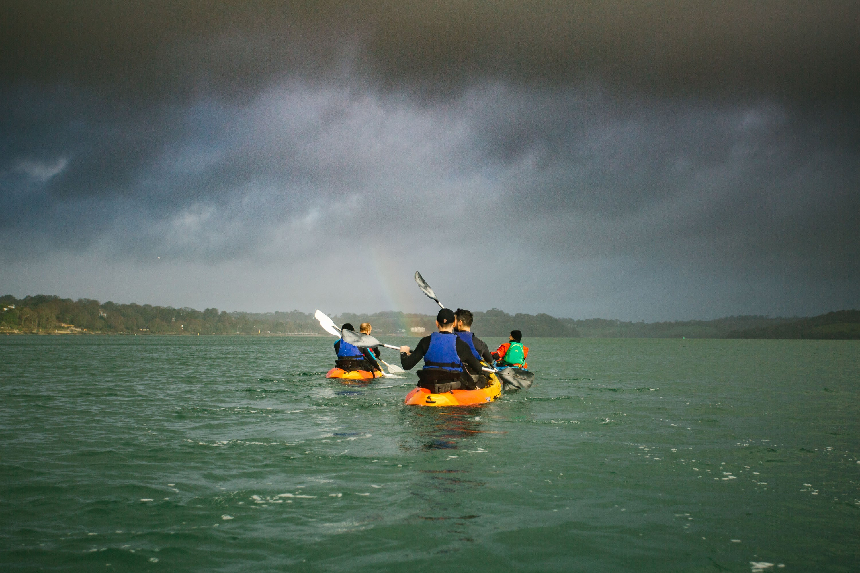 Sea Kayaking in Cornwall with Thera-sea