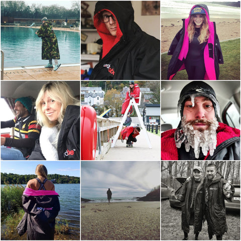 dryrobe, dryrobeterritory, OCR, surf, swim, train, training, winter, cold, water, explore, outdoors, adventure