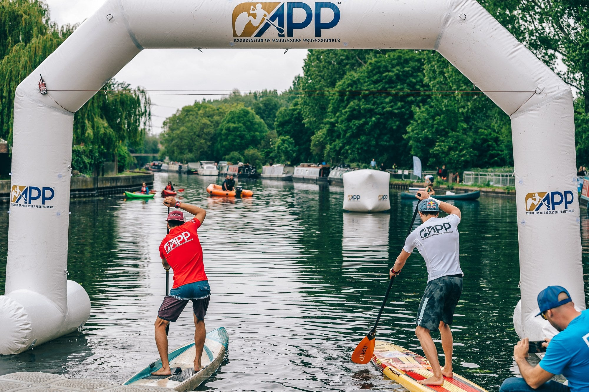 APP World Tour London 2019 - Sprint Finish Line