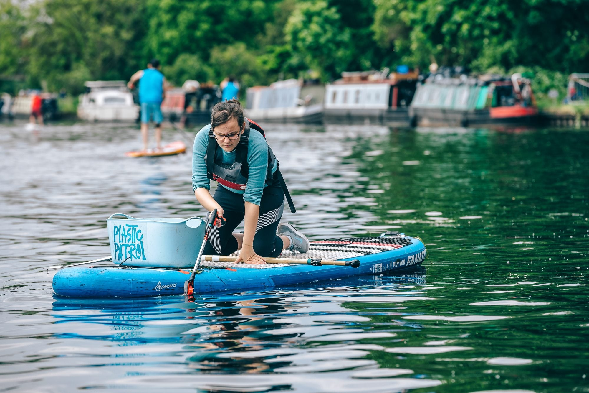Plastic Patrol at Hackney Festival of Fitness 2019