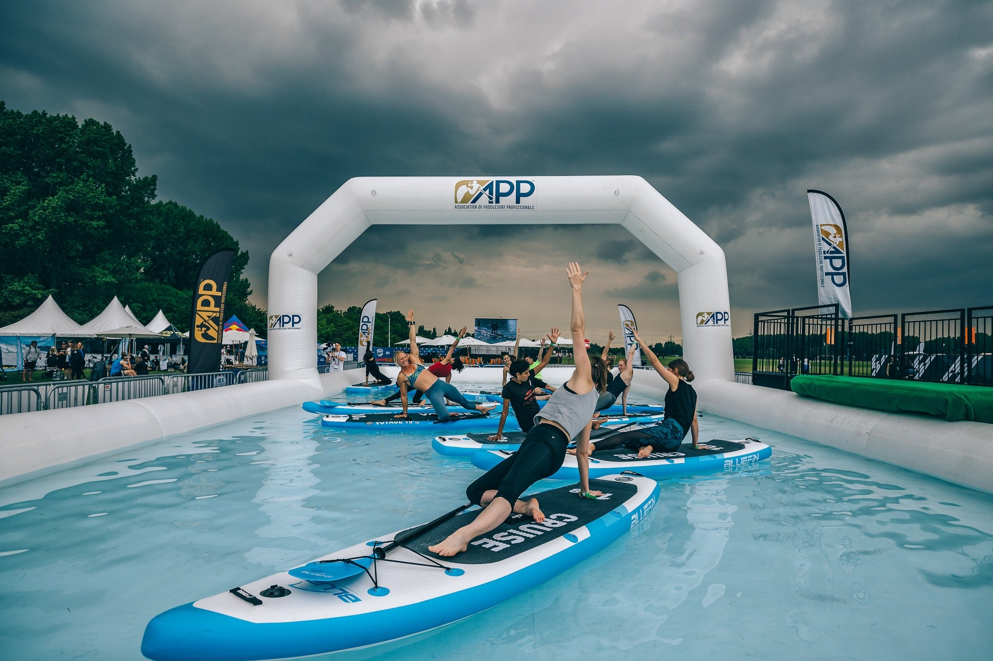 City Paddle Festival London 2019 - SUP yoga