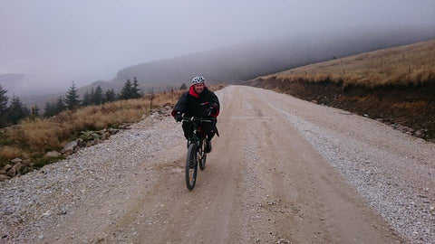 cold mountain bike | dryrobe