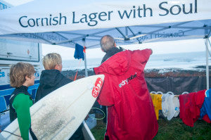 British Surf champs warm Judges