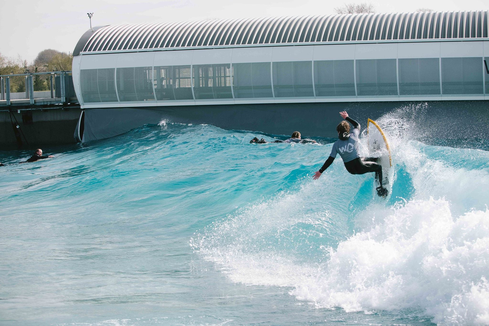 Team England Junior Surfing at The Wave