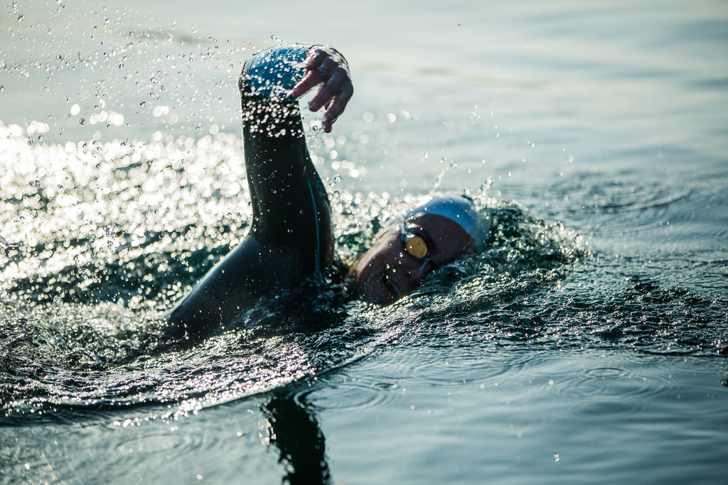 Keri-anne Payne, open water swimming. Photo by James Appleton