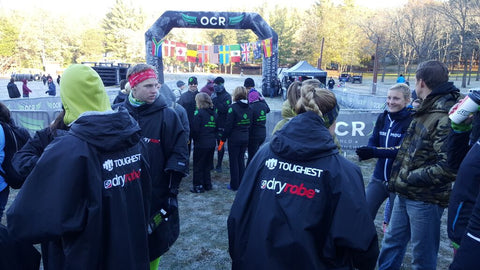 OCR World Championships | dryrobe