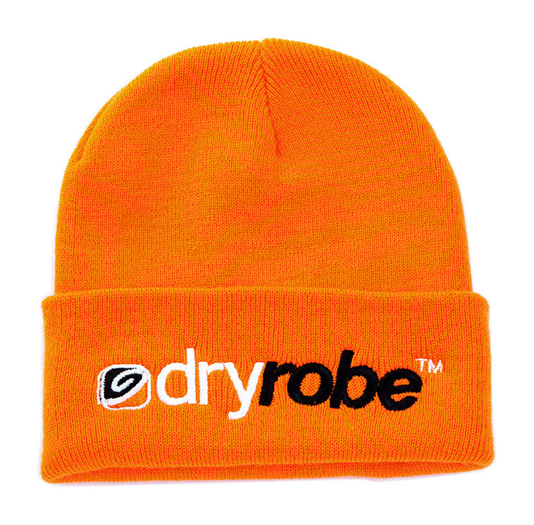 dryrobe | orange beanie