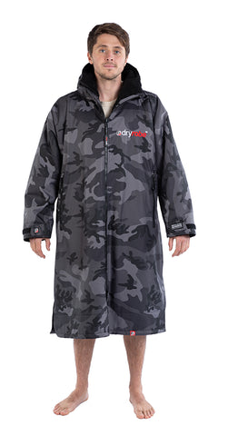 1|L, dryrobe Advance long sleeve Large Camo Black