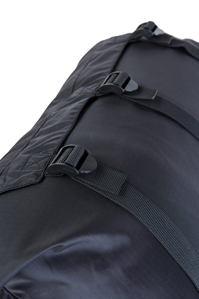 dryrobe compression travel bag straps detail
