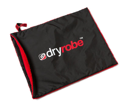 dryrobe Cushion Cover Black Red