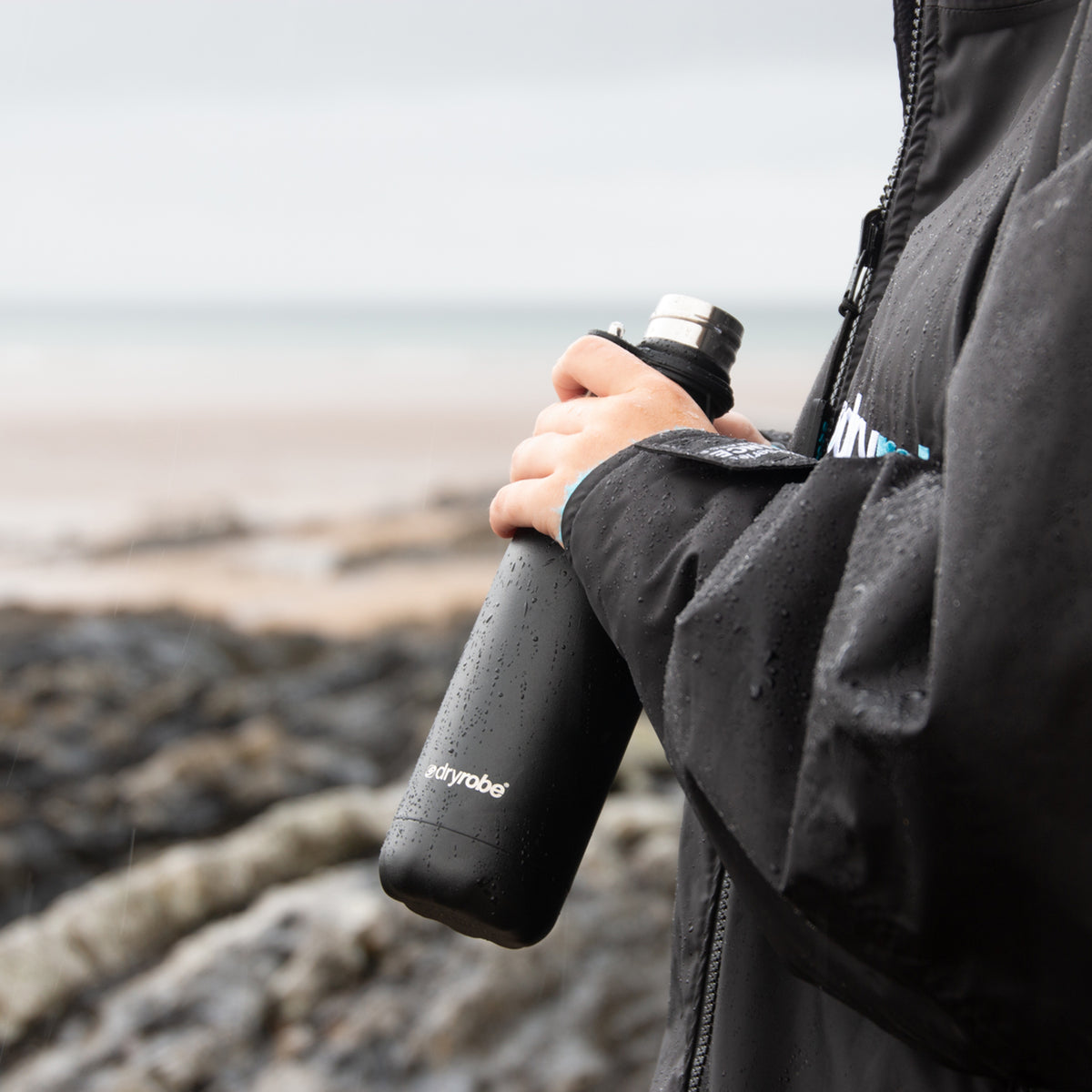 1| dryrobe x Chilly's Bottle 500ml Matte Black