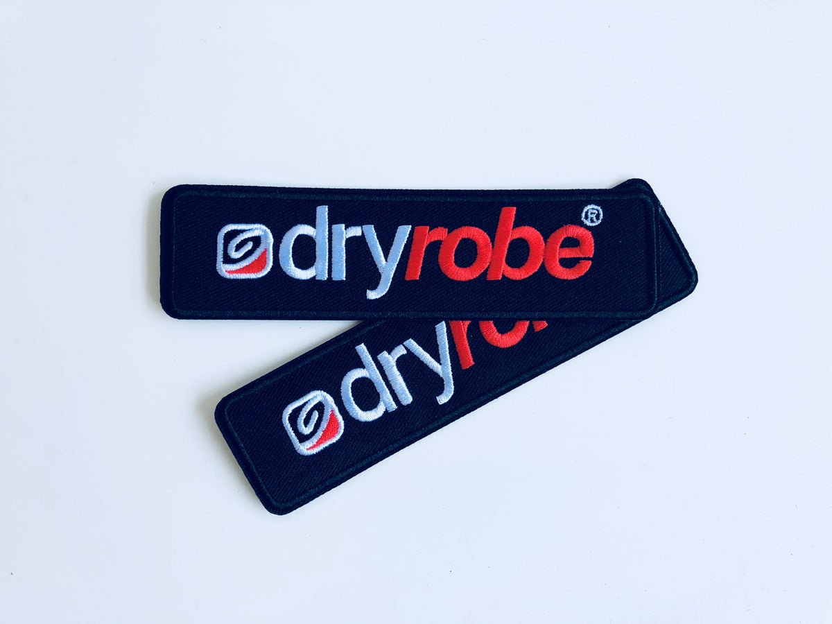 dryrobe fabric patch Iron on