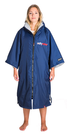 1|M, dryrobe Advance Short Sleeve Navy Grey