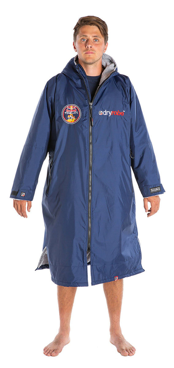1|M,L, dryrobe Advance long sleeve Large Red Bull Time Laps dryrobe