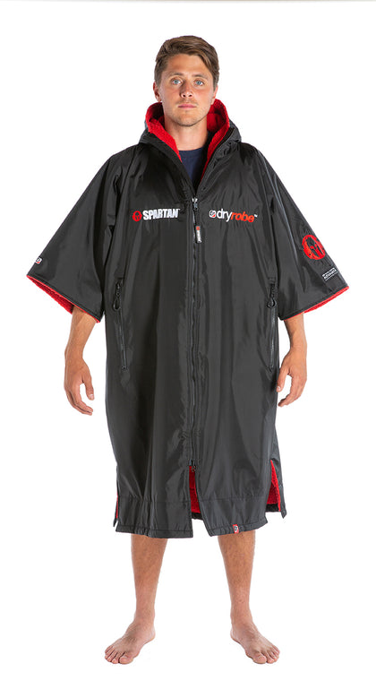 1|L, dryrobe Advance short Sleeve Spartan