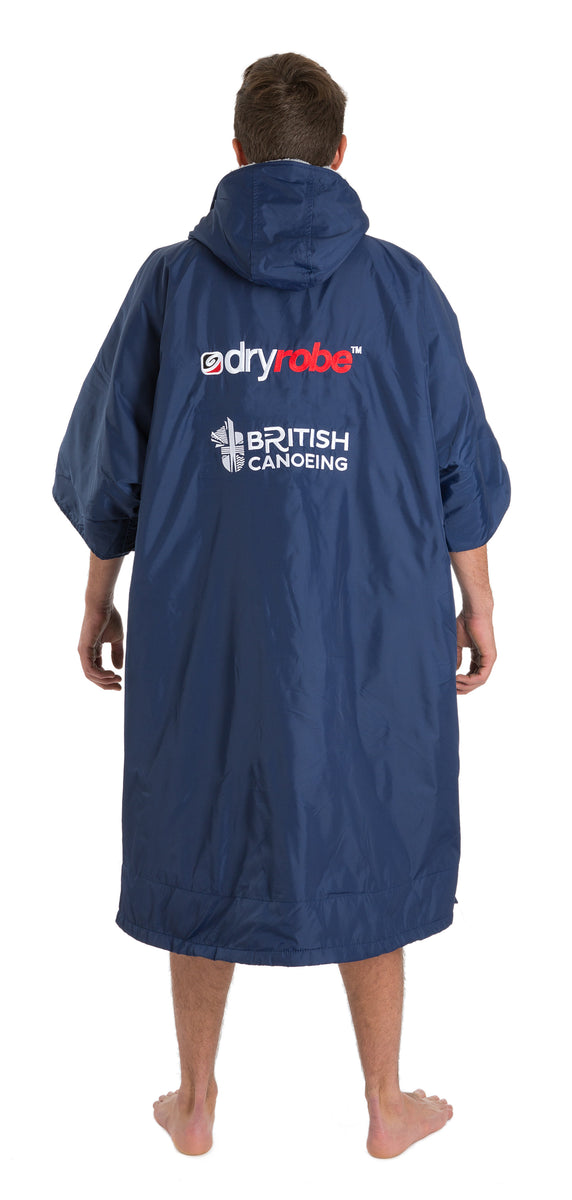 1|L, dryrobe Advance Short Sleeve Large British Canoeing Male Model Back