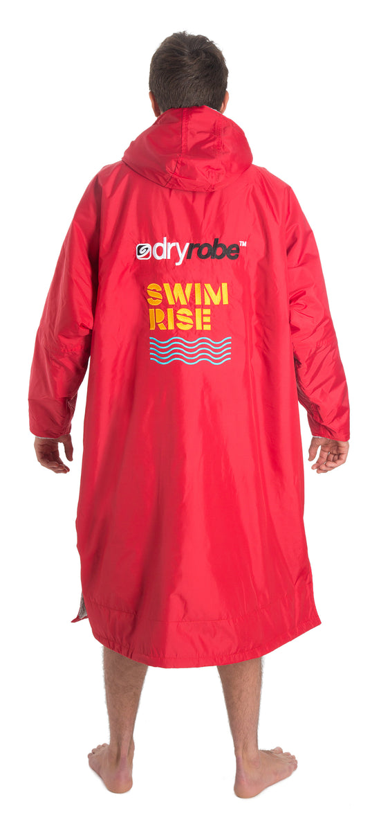1|L, dryrobe Advance Long Sleeve Happy Pear Back