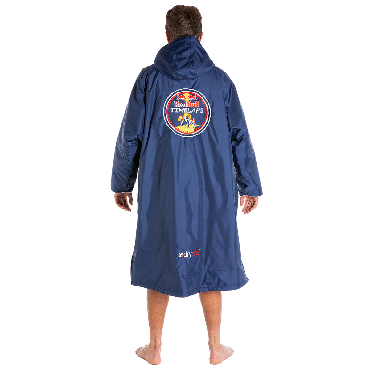 1|M,L, dryrobe Advance long sleeve Large Red Bull Time Laps dryrobe Back