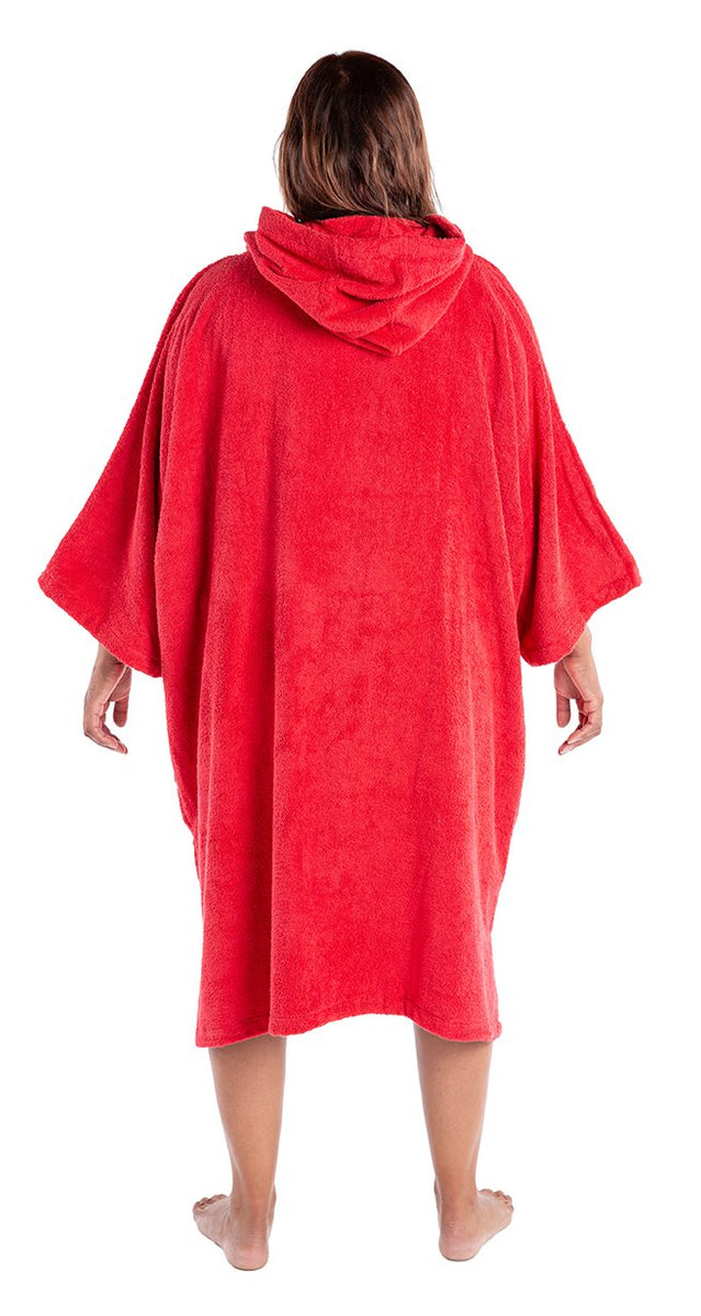 1|L, Adult organic towelling robe change robe female back