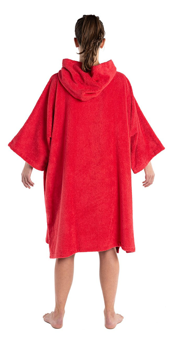 1|M, Adult organic towelling robe change robe female back