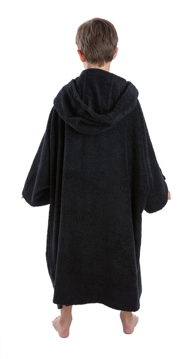 Medium Towel dryrobe Black Back