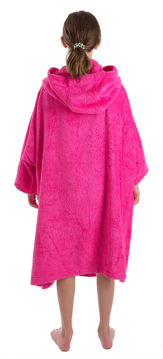 Medium Towel dryrobe Pink Back