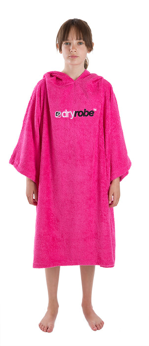 Medium Towel dryrobe Pink Front