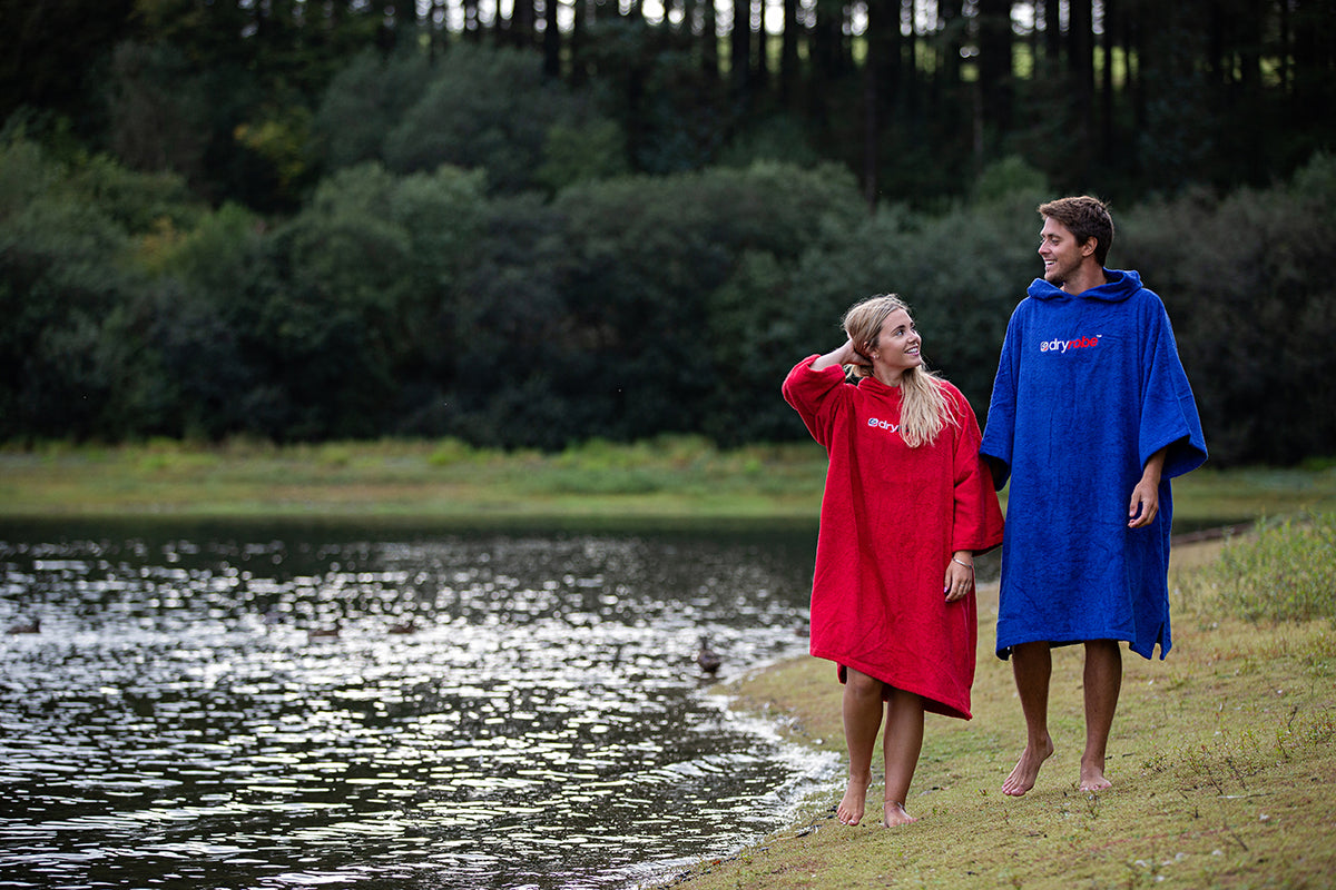 1|M, Adult organic towelling robe change robe Red Lake lifestyle