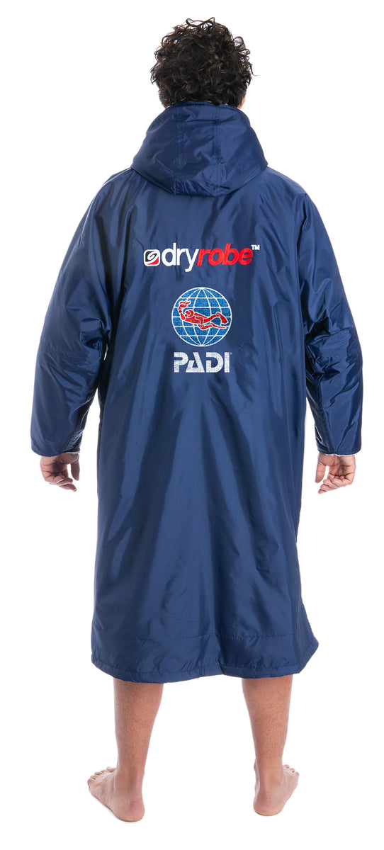 1|L, dryrobe Advance Long Sleeve Large PADI Back